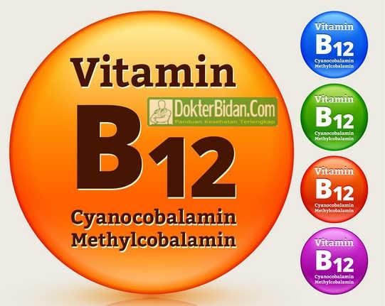 Vitamin B12 Cyanocobalamin Methylcobalamin - Manfaat Suplemen, Dosis dan Efek Sampingnya Bagi Kesehatan