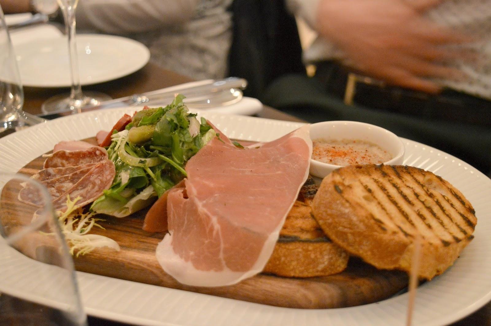 Côte Brasserie Newcastle - Starters