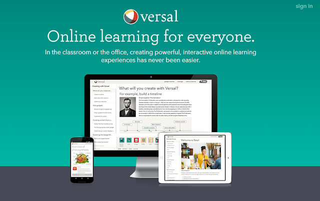versal, e-learning, platform, nauka języków, narzędzie