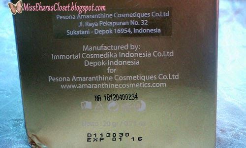 Amaranthine Arabic Glam Night Loose Powder