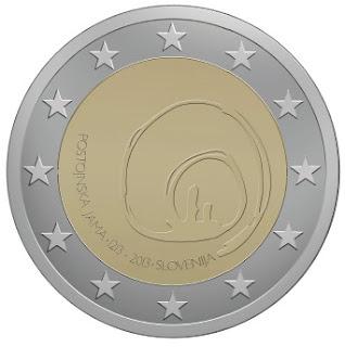 2 euroa erikoisraha Slovenia 2013