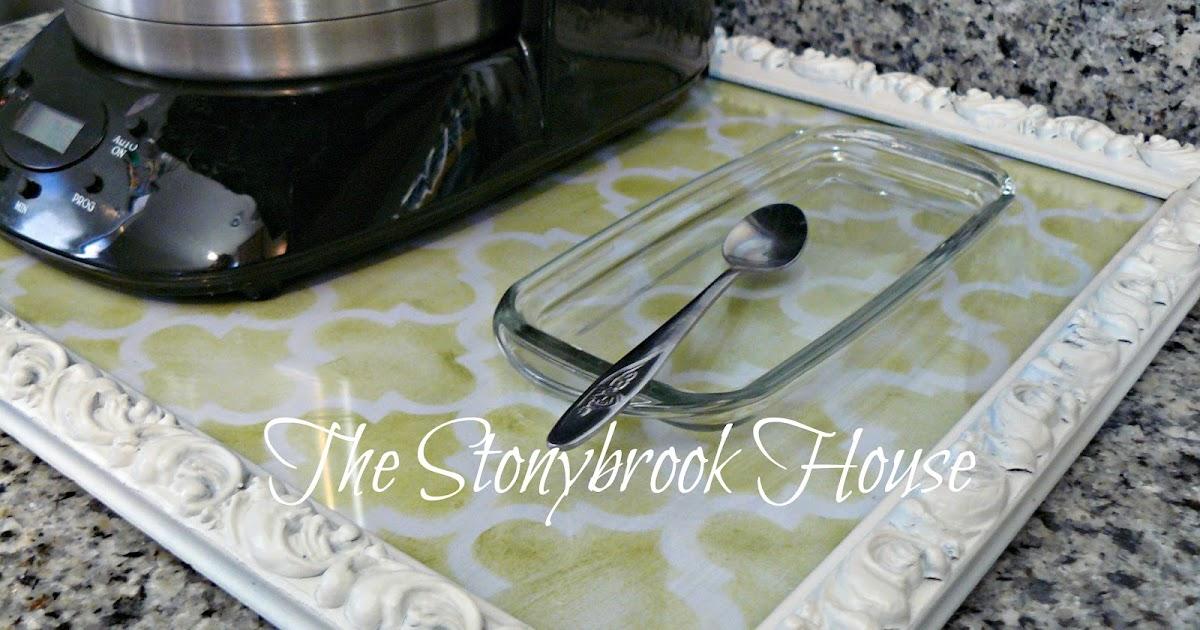 Diy Sliding Coffee Tray The Stonybrook House