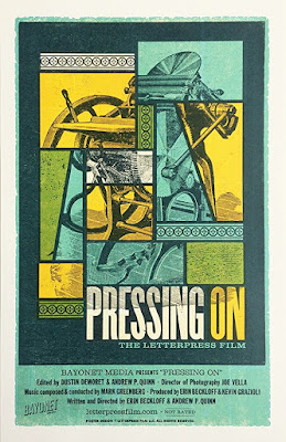Documentaries: Pressing On: The Letterpress Film (2018) – Reviewed