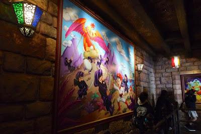 Queue in Sindbad's Storybook Voyage Tokyo Disneysea Japan