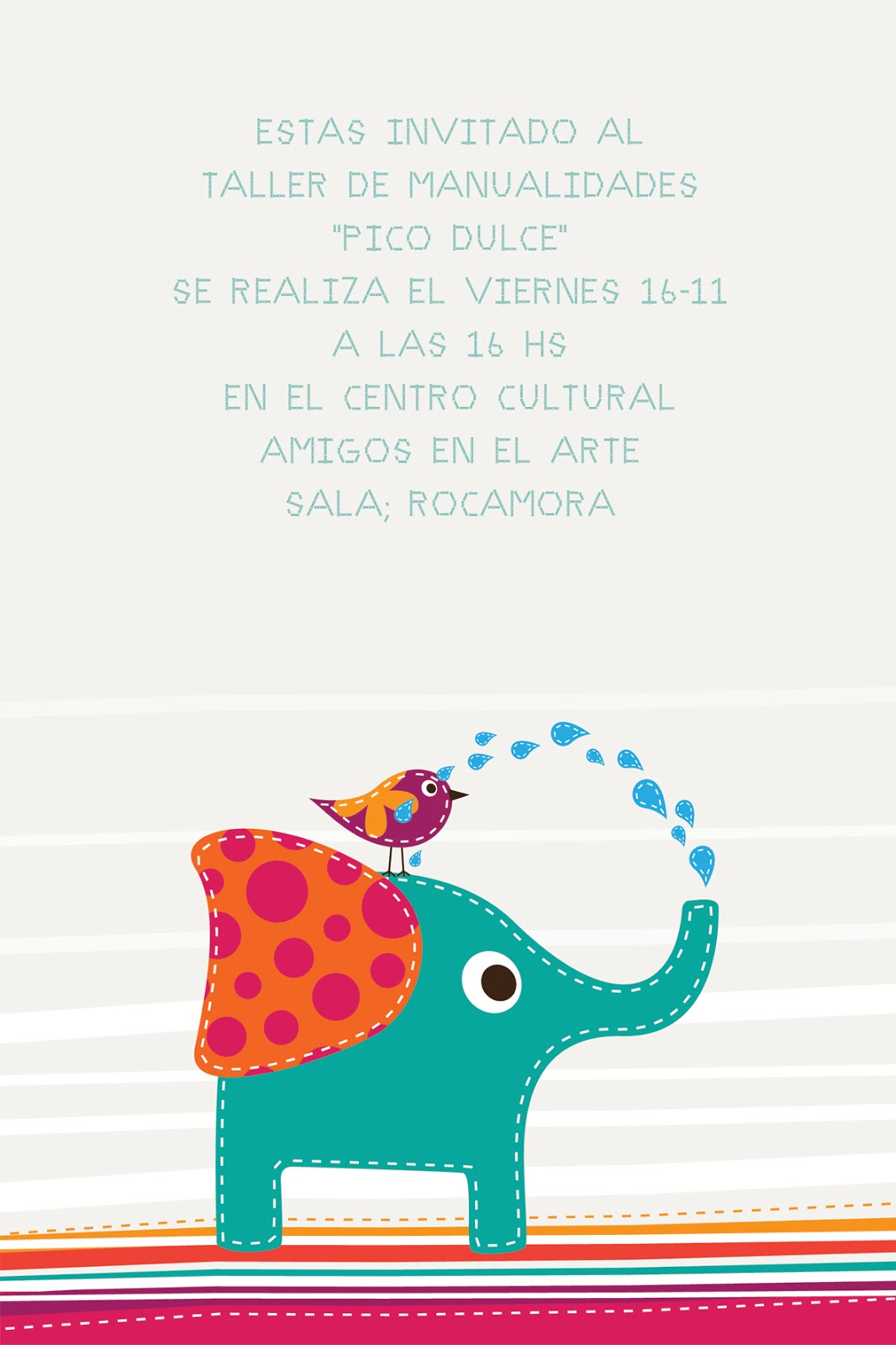 By Meli Tarjetas De Invitación Infantiles