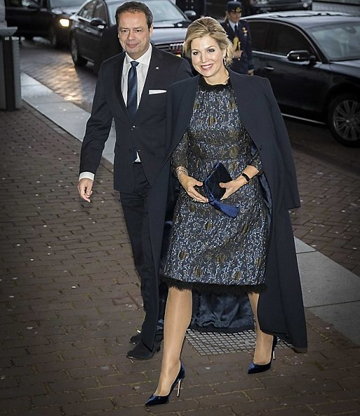 Queen Maxima wore Natan Dress from Natan Couture FW17 Collection. Geert Ludzer Mak is a Dutch author, journalist