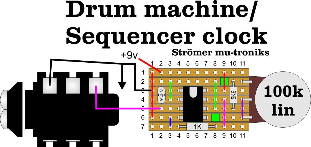 mobila enheten drum machine and or sequencer clock. Black Bedroom Furniture Sets. Home Design Ideas