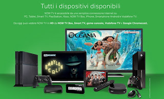 Dispositivi per Now TV