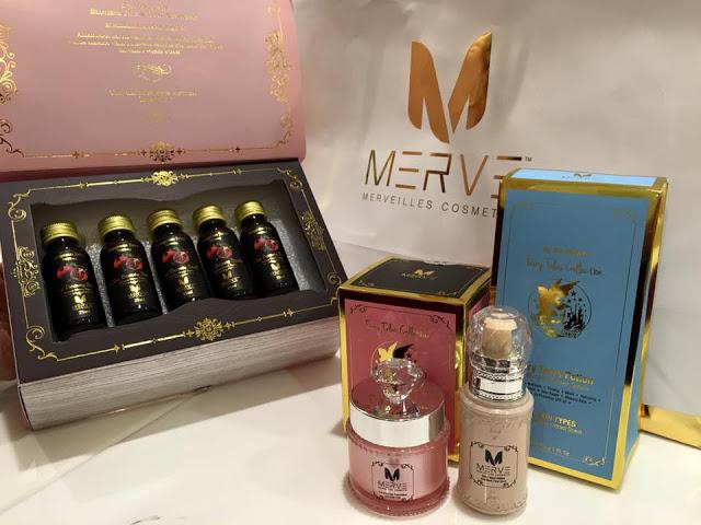 Produk kecantikan MERVE berinspirasikan alam fantasi