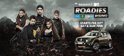 Renault Mtv Roadies Rising 25 March 2017 HDTVRip 480p 150mb