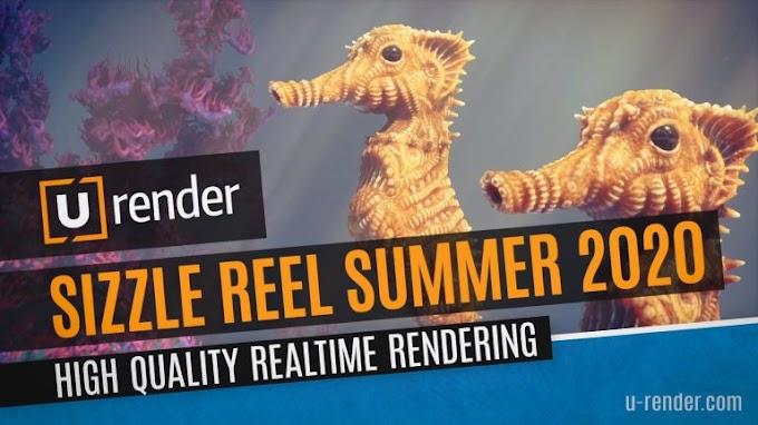 U-RENDER For Cinema 4D R19 – R21 Free Download