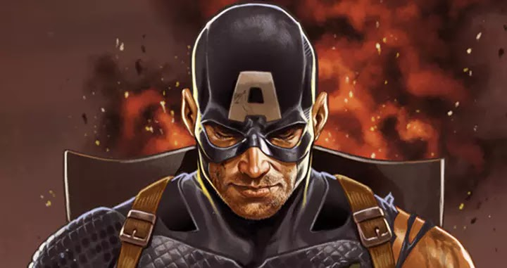 Captain America Exposed As Hydra Secret Agents on The Cover Of Secret Empire #0.