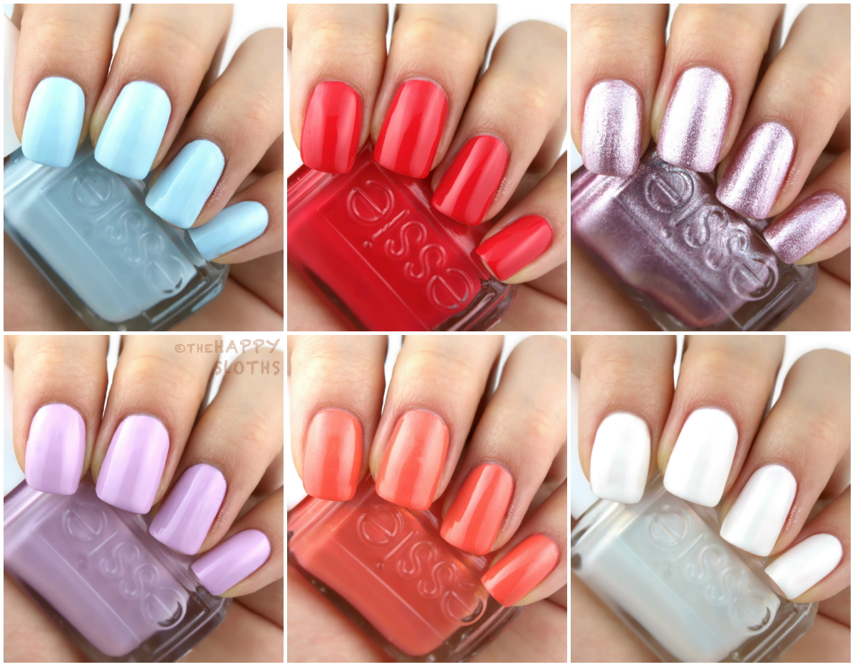 Essie Summer 2017 Review and Swatches