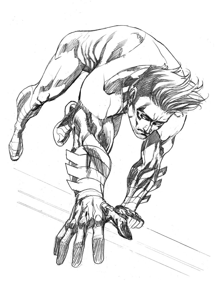 nightwing new 52 coloring pages - photo#11