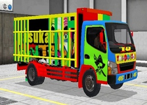 Livery Truk Bussid Canter The Doctor 46