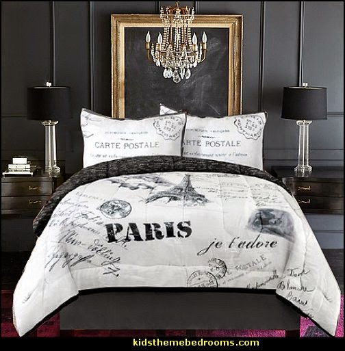 Decorating Theme Bedrooms - Maries Manor: Eiffel Tower