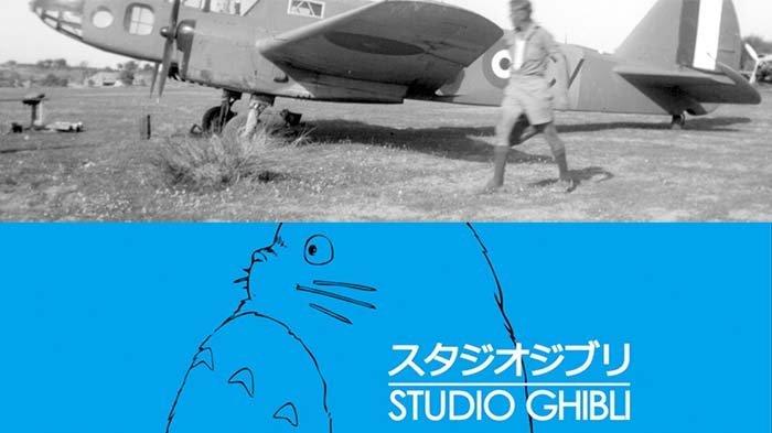 Ghilbi Airplane and Ghilbi Studio