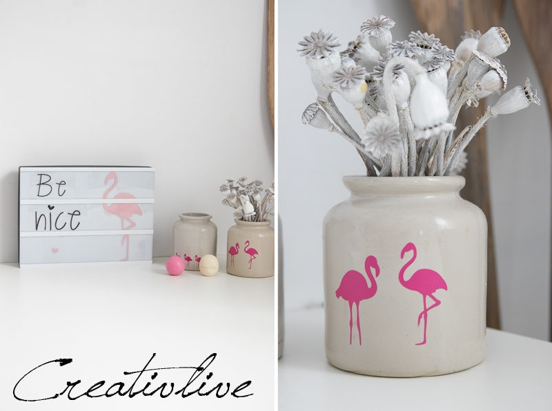 Lightbox Flamingo