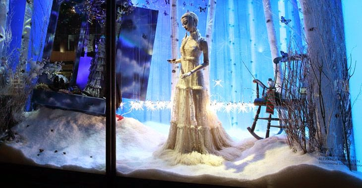Harrods, escaparates de navidad, The Land of Make Believe, Alexander McQueen