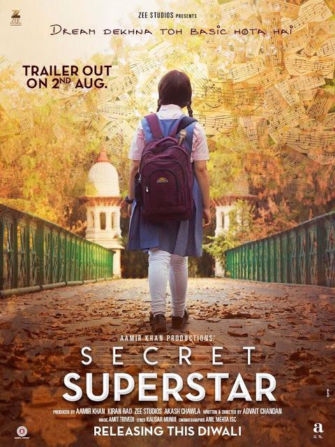Secret Superstar Movie First look Poster