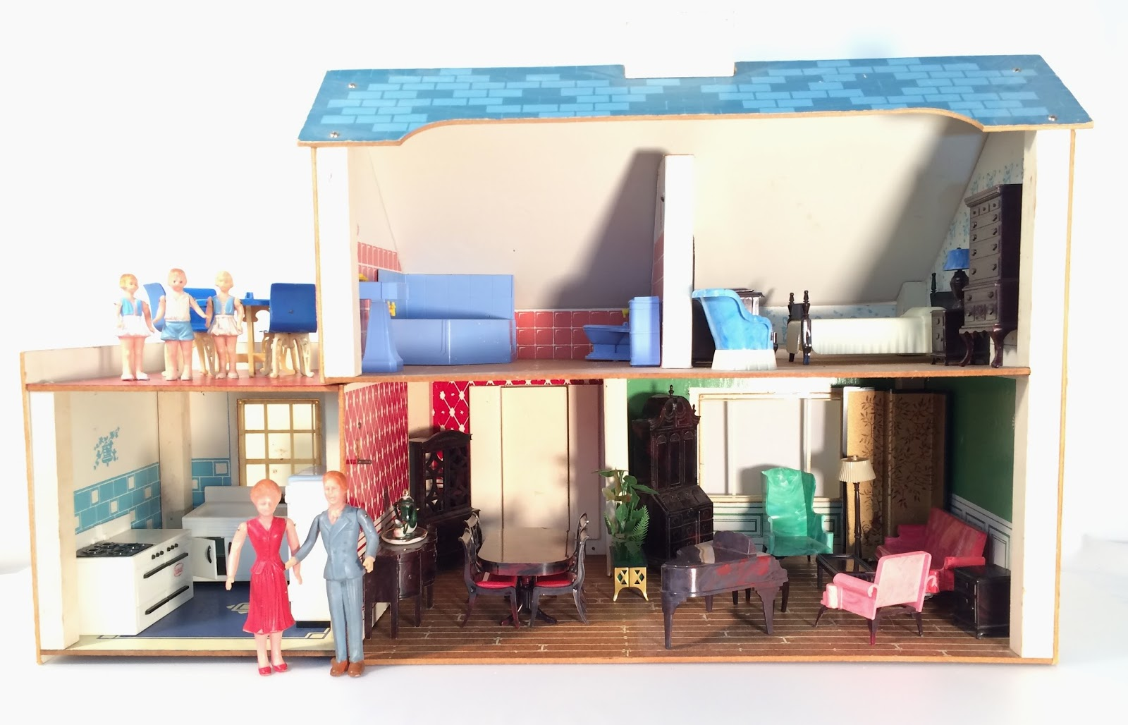 My Vintage Dollhouses Looking For This Keystone Dollhouse