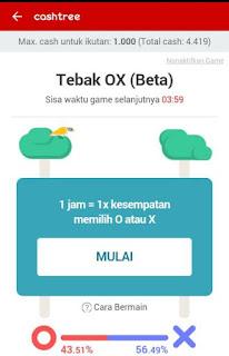 img 20160822 184606 Cara mudah mendapatkan pulsa gratis dari Cashtree Tebak OX (BETA)