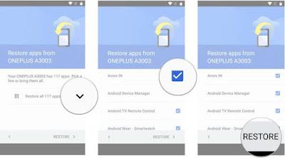 Cara Restore Data dan Aplikasi Android Dari Google Simpel