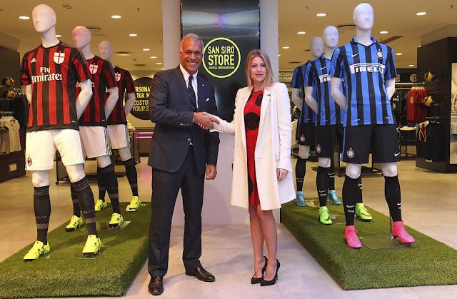 El Milan y el Inter compartirán tienda en San Siro