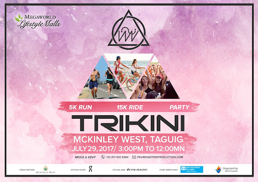 Run, Bike, and Party with Trikini
