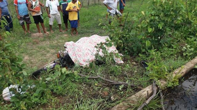 PI: Lavrador morre em acidente após cair de sua motocicleta em rodovia cheia de buracos