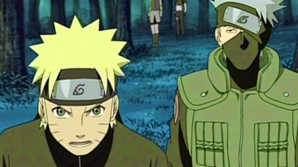 Naruto y Kakashi