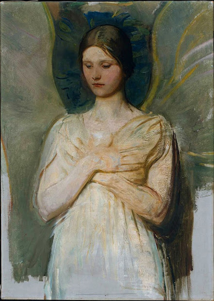 Abbott Handerson Thayer Angel Painting