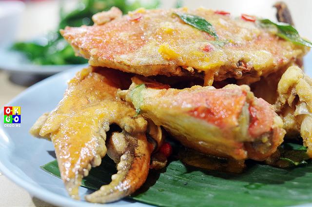 新山海鲜 咸蛋螃蟹