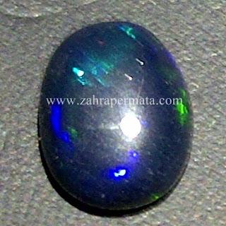Batu Permata Black Opal Kalimaya - ZP 560