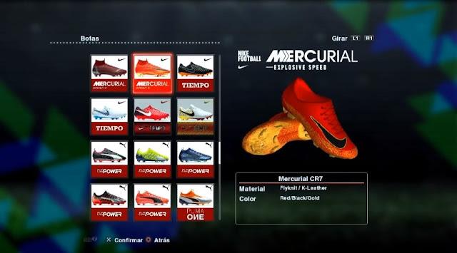 New Nike Mercurial Ronaldo 2018-2019 PES 2013