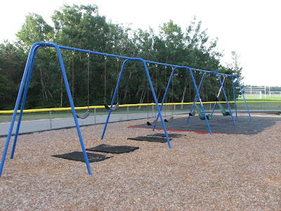 Quashnet Elementary School Swings