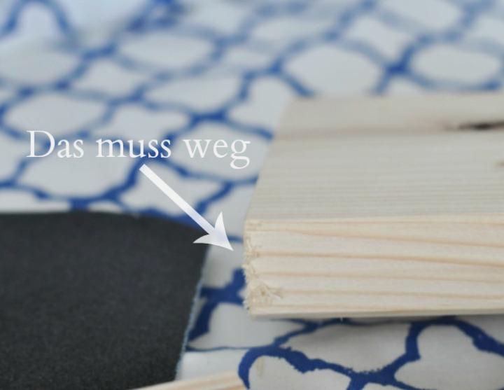 Bilder-Adventskalender auf Holz gezogen - wie's geht I