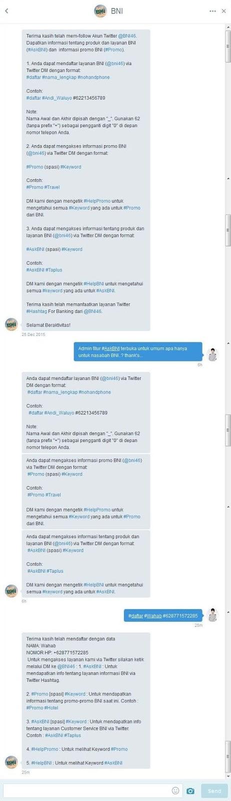 Pendaftararan #AskBNI @BNI46