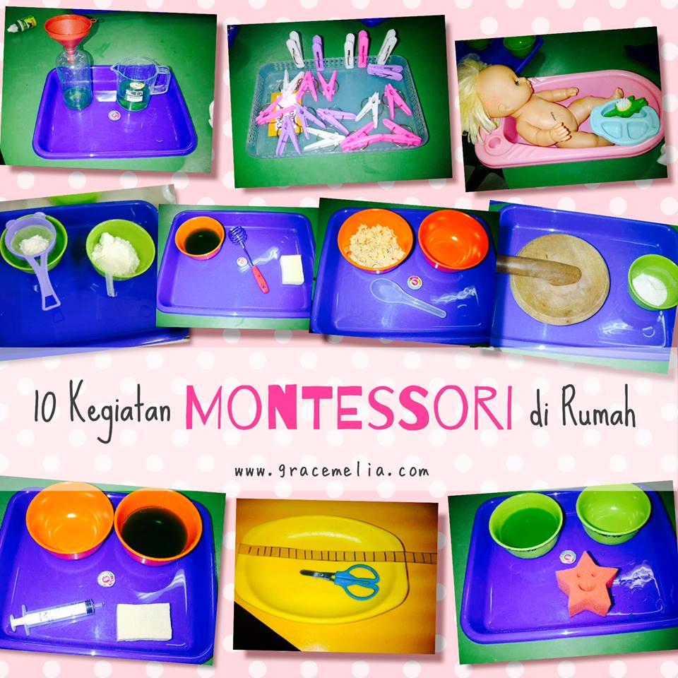 10 Ide Kegiatan Montessori di Rumah | gracemelia.com | Parenting ...