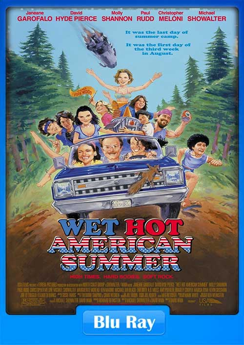 Wet Hot American Summer 2001 720p BluRay 750MB x264 Poster