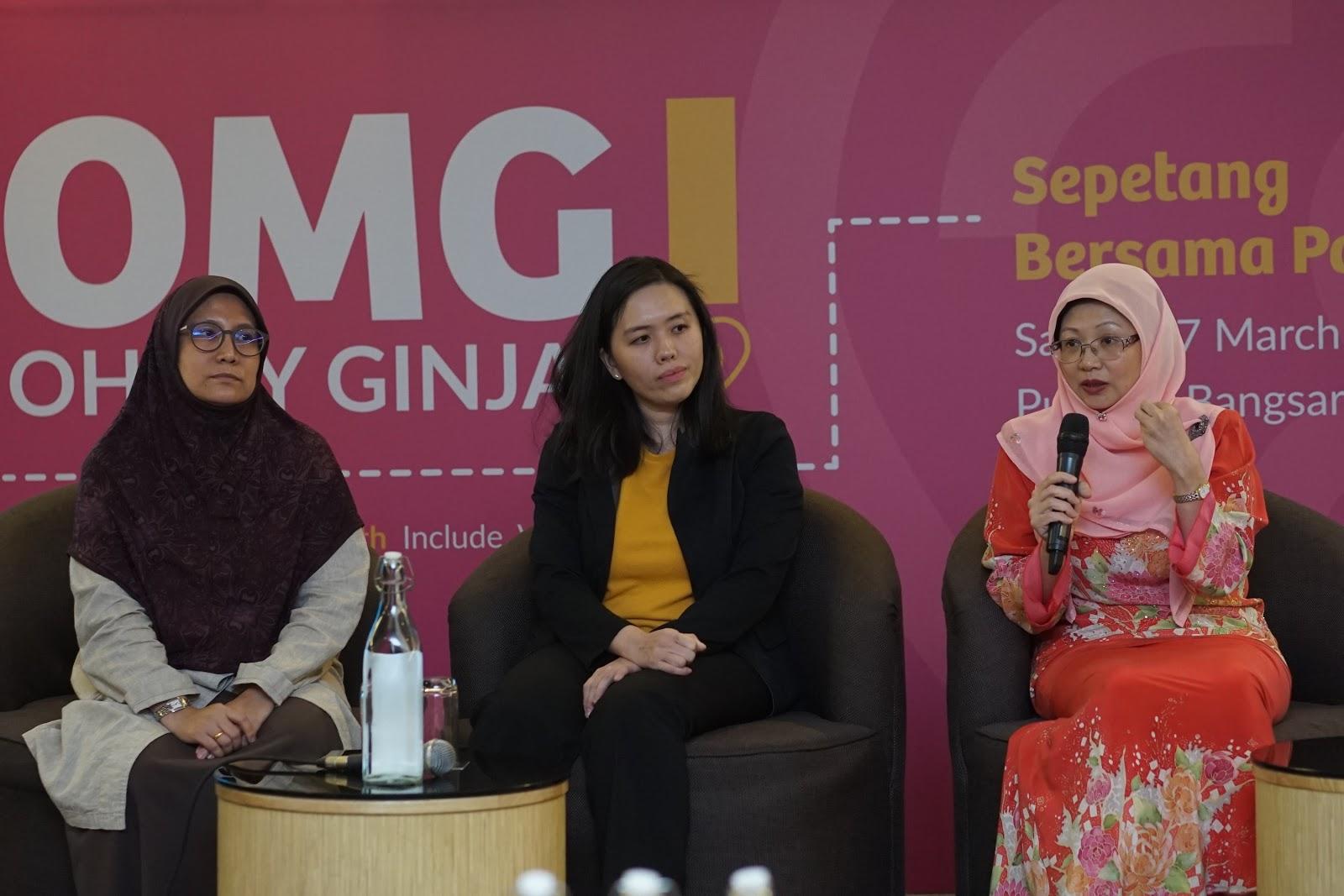 Oh My Ginjal! ~ A Women's Kidney Health Talk
