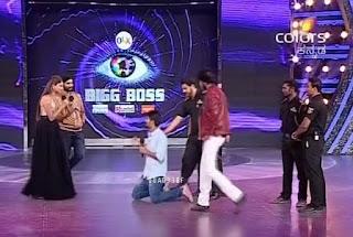 bigboss kannada season 3 guy proposes actress rachitha ram on stage