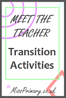 transition activities with a new primary school class.