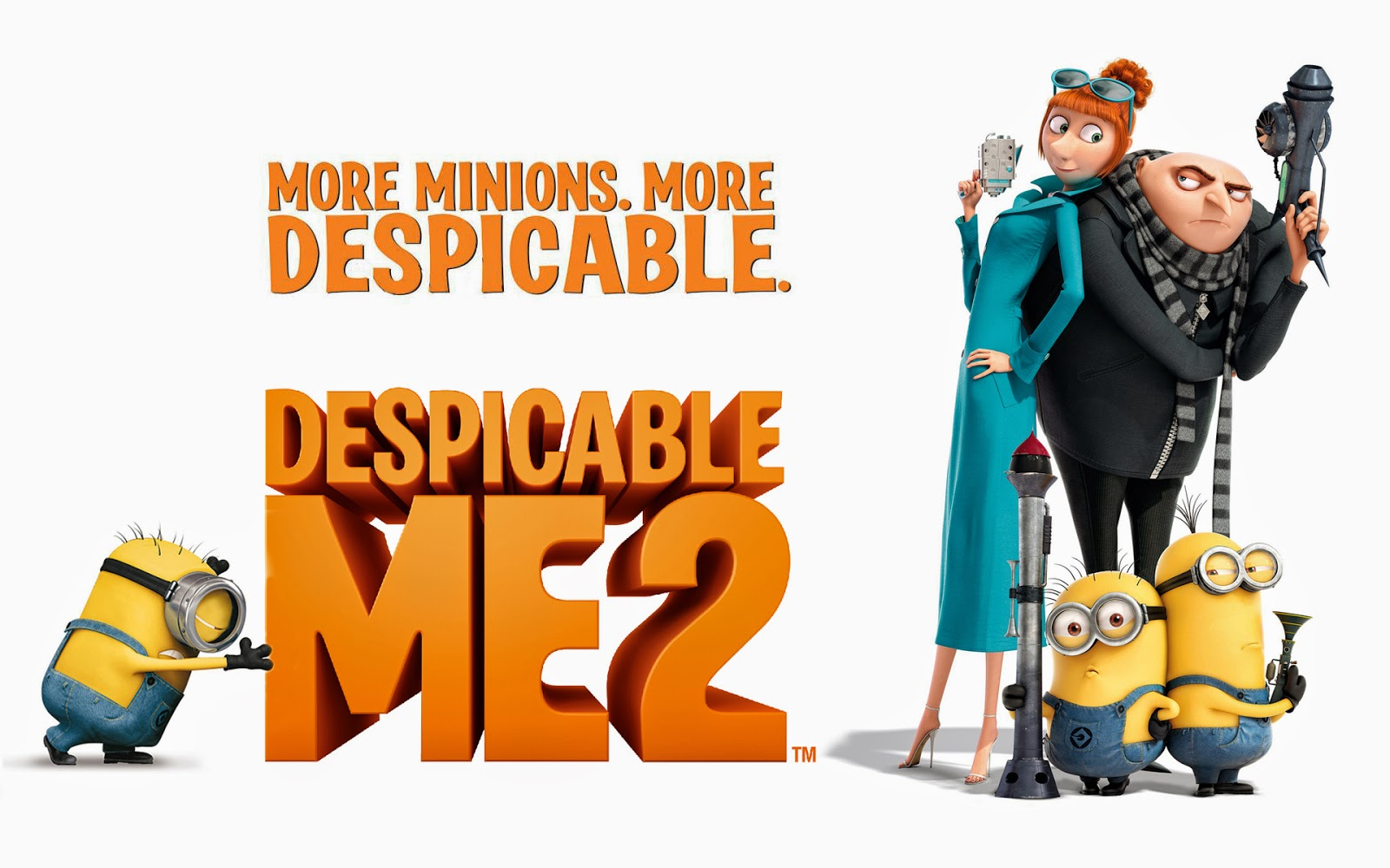 Download Despicable Me 2 (2013) BluRay 720p