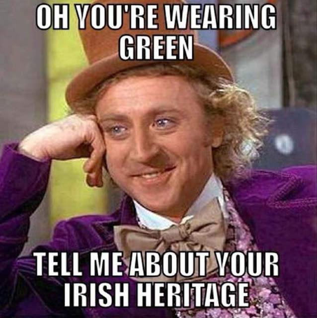 St. Patrick's Day Meme Free