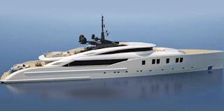 Salvini e Isa Yachts a 'Montenapoleone yacht club'