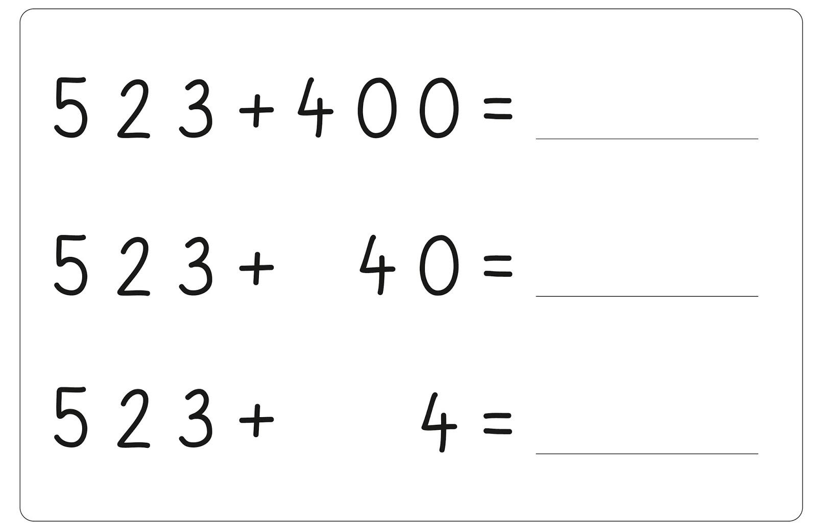 Lernstübchen: welcher Stellenwert verändert sich - Tafelmaterial ...