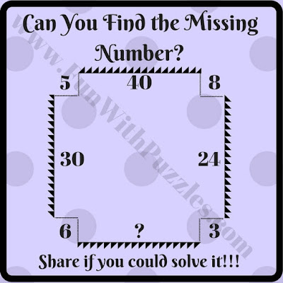 Missing Number Maths Picture Puzzle