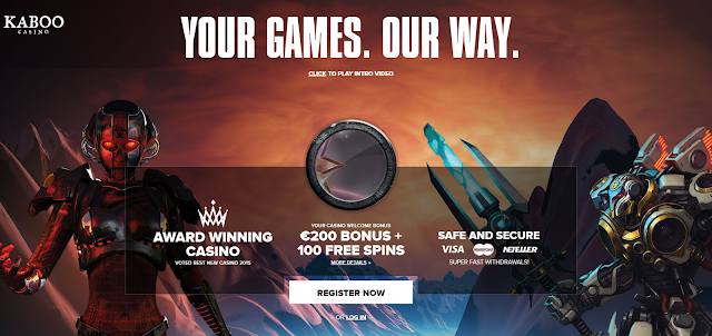 KABOO | New Casino Welcome Bonuses
