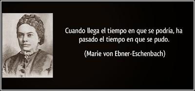 frases de Marie von Ebner-Eschenbach